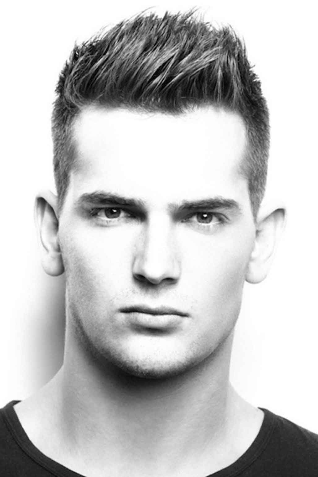 Hairstyle For Square Face Male Black – Wavy Haircut