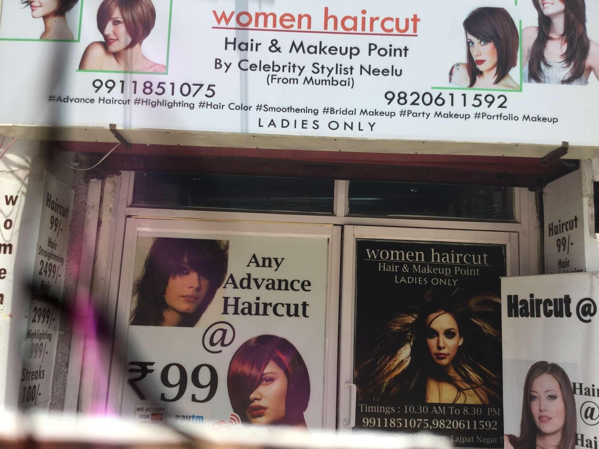 Women Haircut, Lajpat Nagar 4 - Beauty Parlours In Delhi - Justdial intended for Haircut Salon In Lajpat Nagar