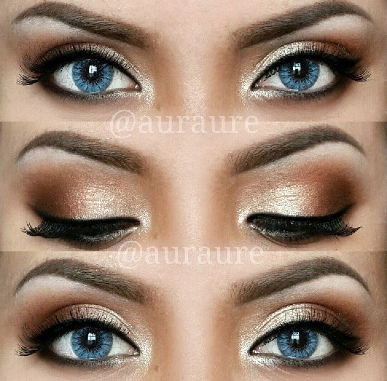 12 Easy Ideas For Prom Makeup For Blue Eyes | Hair And Makeup for How To Apply Dramatic Eye Makeup For Blue Eyes