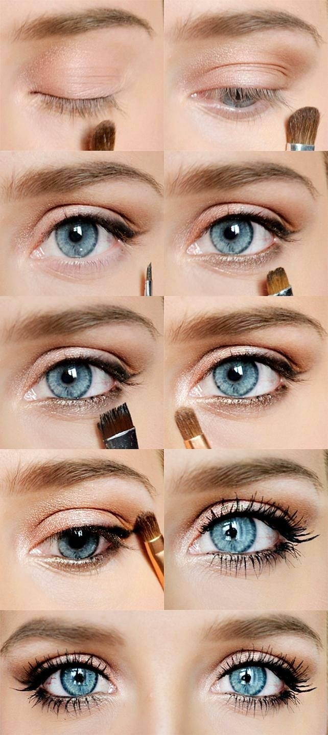 12 Easy Ideas For Prom Makeup For Blue Eyes | Makeup | Pinterest in Prom Makeup Tutorial Blue Eyes
