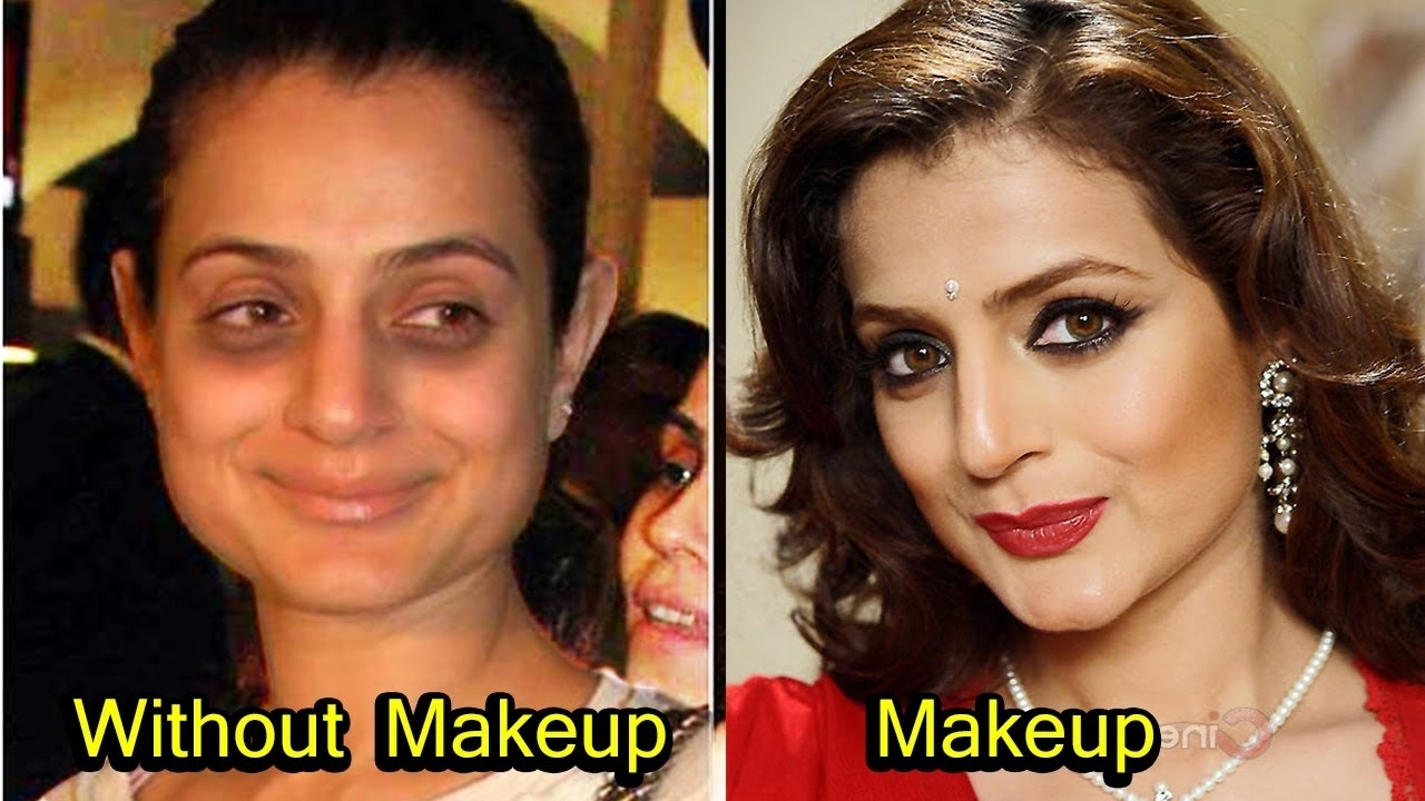 20 Bollywood Actress Who Look Unrecognizable Without Makeup - Youtube inside Bollywood Actress Without Makeup Video