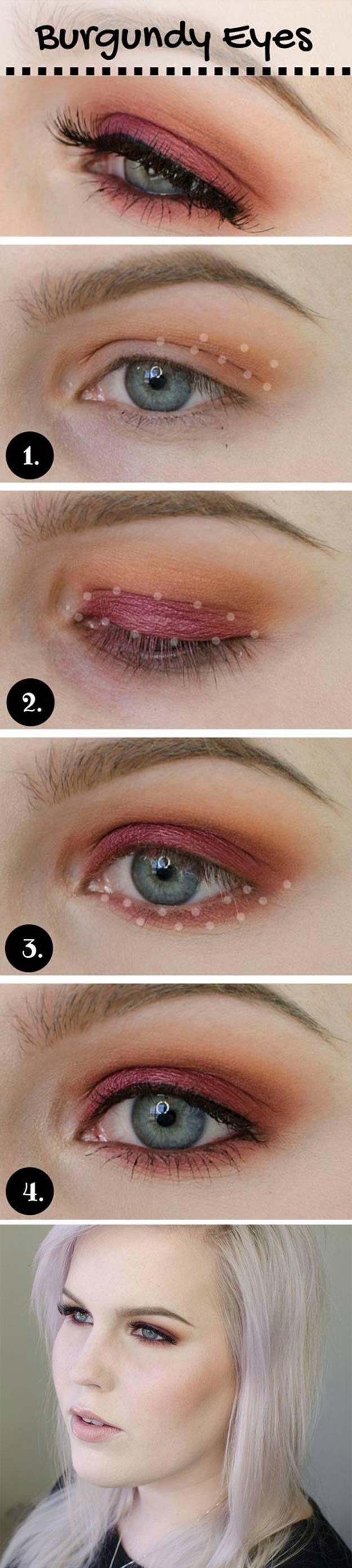 35 Wedding Makeup For Blue Eyes - The Goddess with Wedding Makeup Blue Eyes Brown Hair