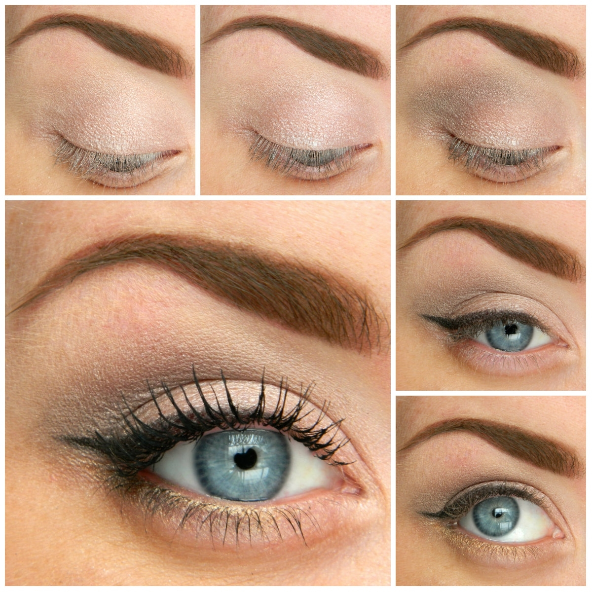 5 Ways To Make Blue Eyes Pop With Proper Eye Makeup - Her Style Code with regard to How To Do Your Makeup Natural For Blue Eyes