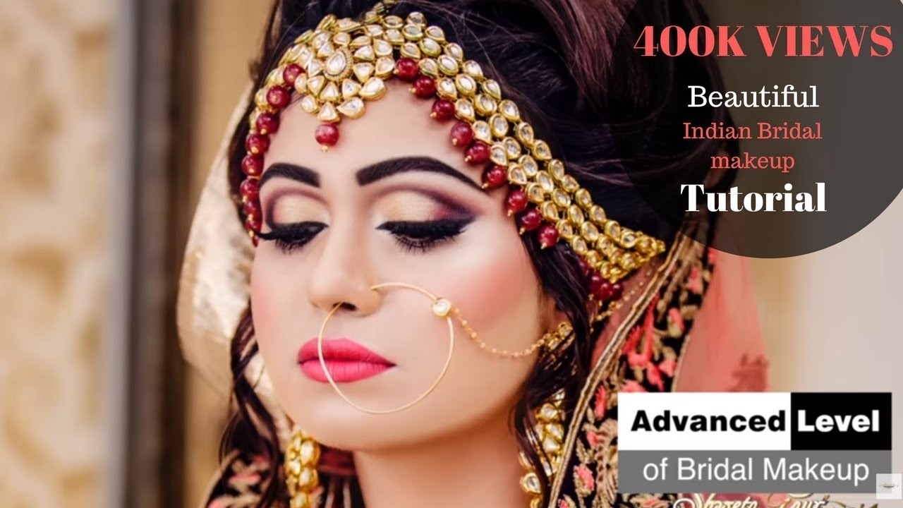 Advanced Bridal Makeup By Shweta Gaur At Shweta Gaur Makeup Artist inside Bridal Makeup Pic