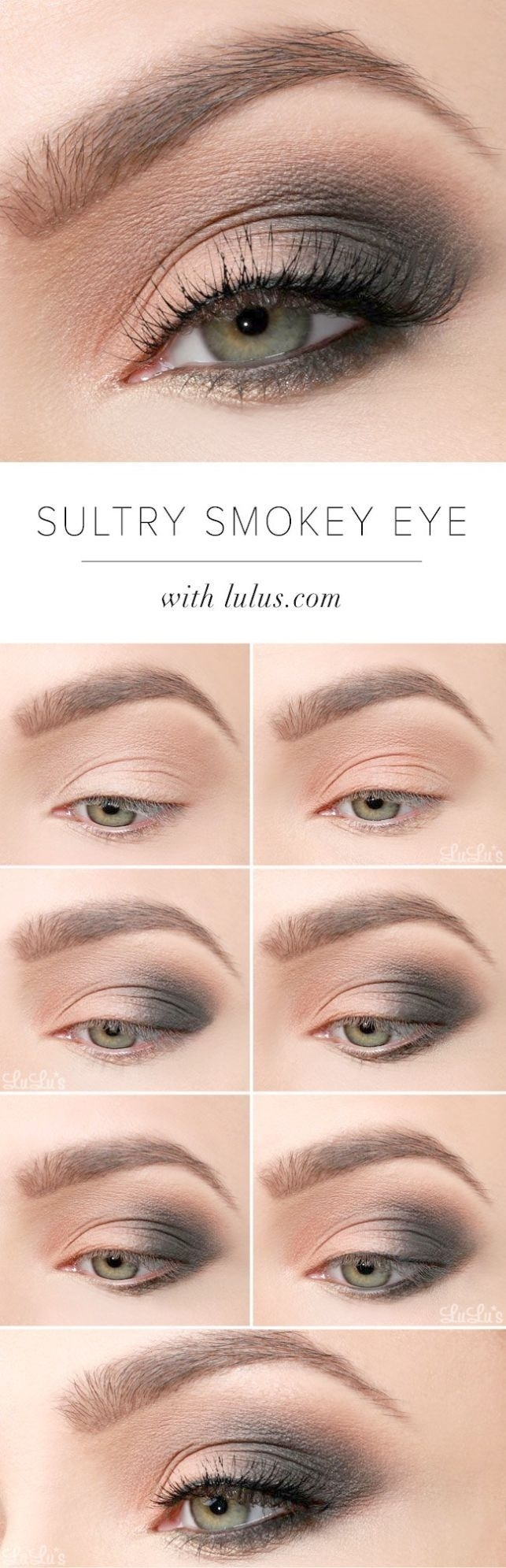 how to apply eye makeup for blue eyes over 50 - wavy haircut