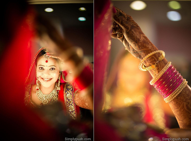 wedding photoshoot makeup – wavy haircut