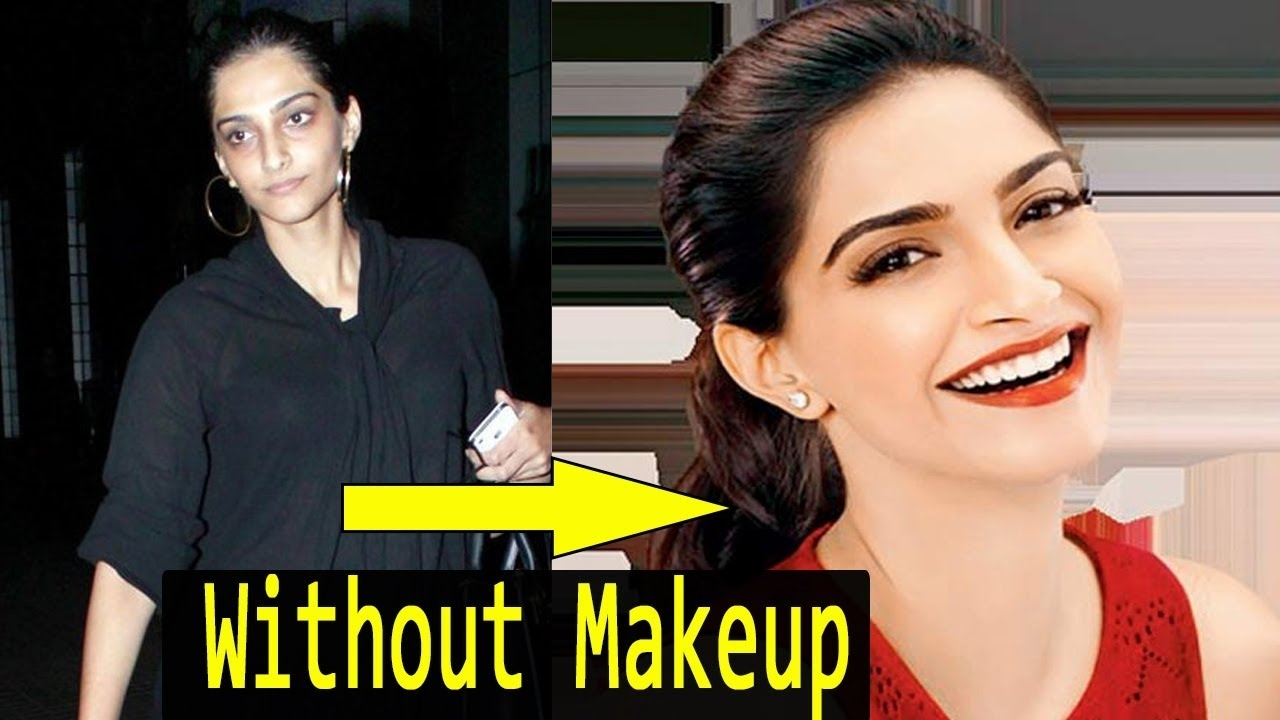 Bollywood Actresses Without Makeup - See The Horrible Look - Youtube pertaining to Bollywood Actress Without Makeup Horrible
