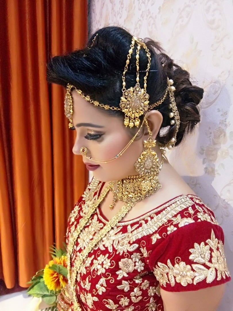 Bridal Makeup In Lucknow | Nail Art In Lucknow | Best Spa Salon In with Bridal Makeup Gallery