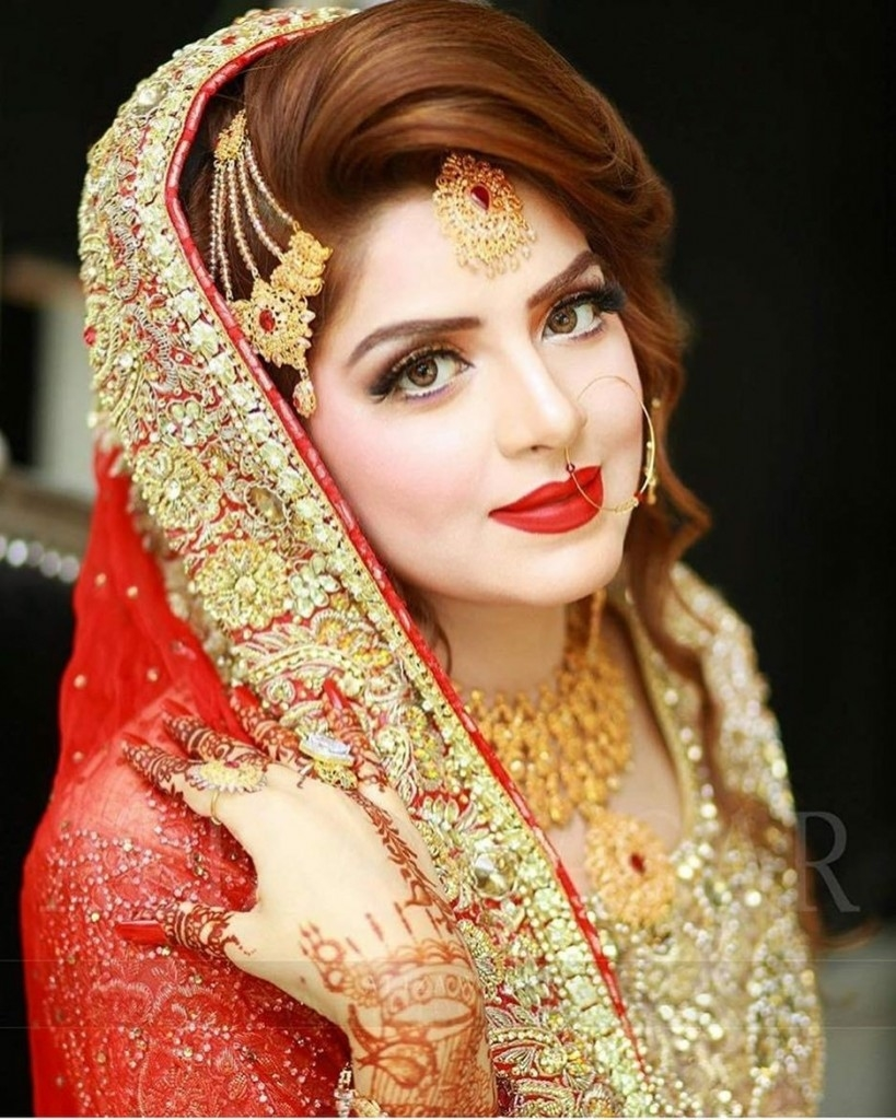 Bridal Makeup : The Crowning Glory - Fashionkidunia regarding Pakistani Bridal Makeup Gallery