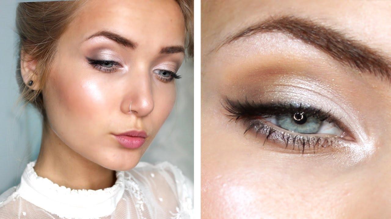 Bridal Wedding Makeup Tutorial - Youtube in Wedding Makeup Pictures Brides