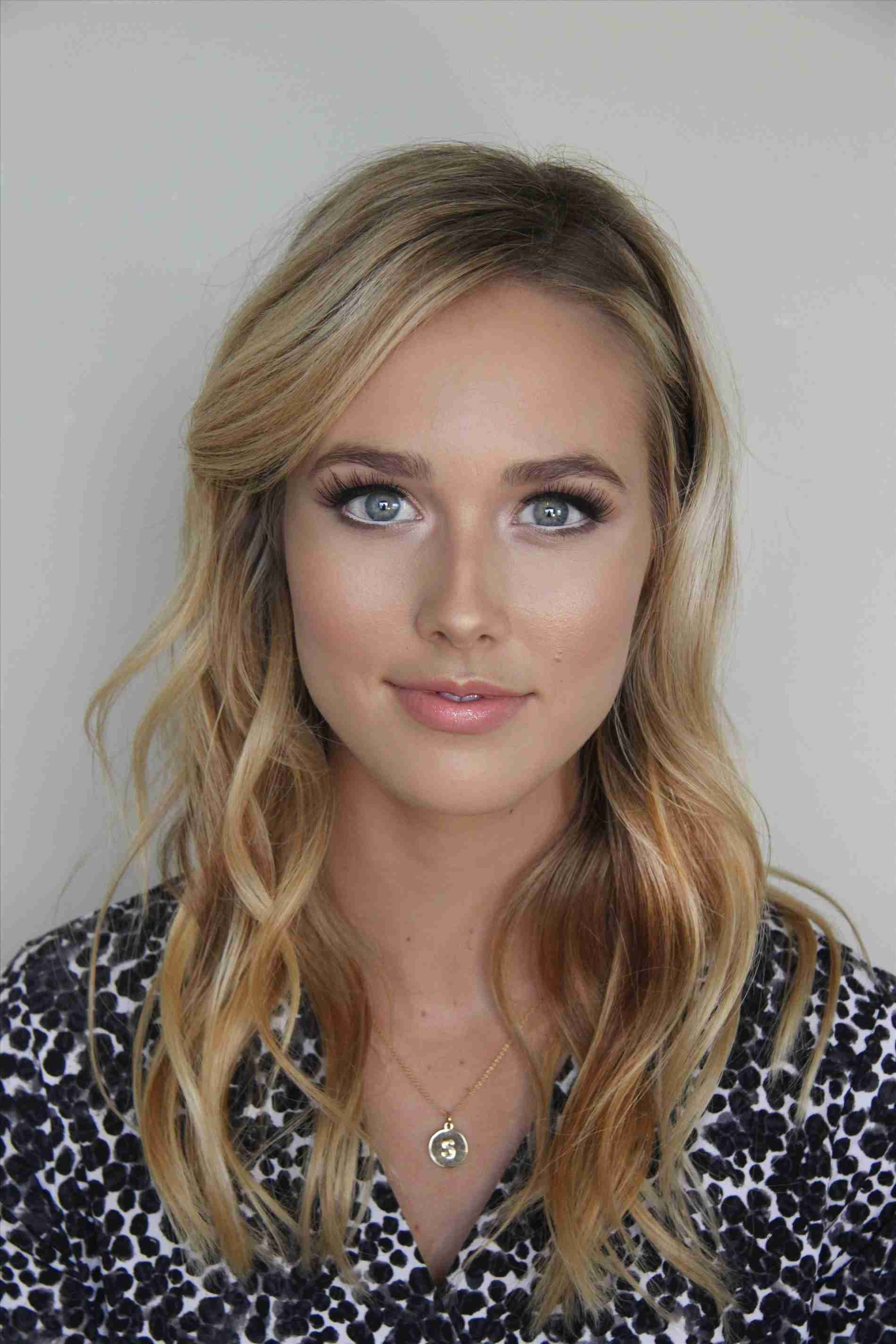 makeup for blonde hair hazel eyes fair skin - wavy haircut