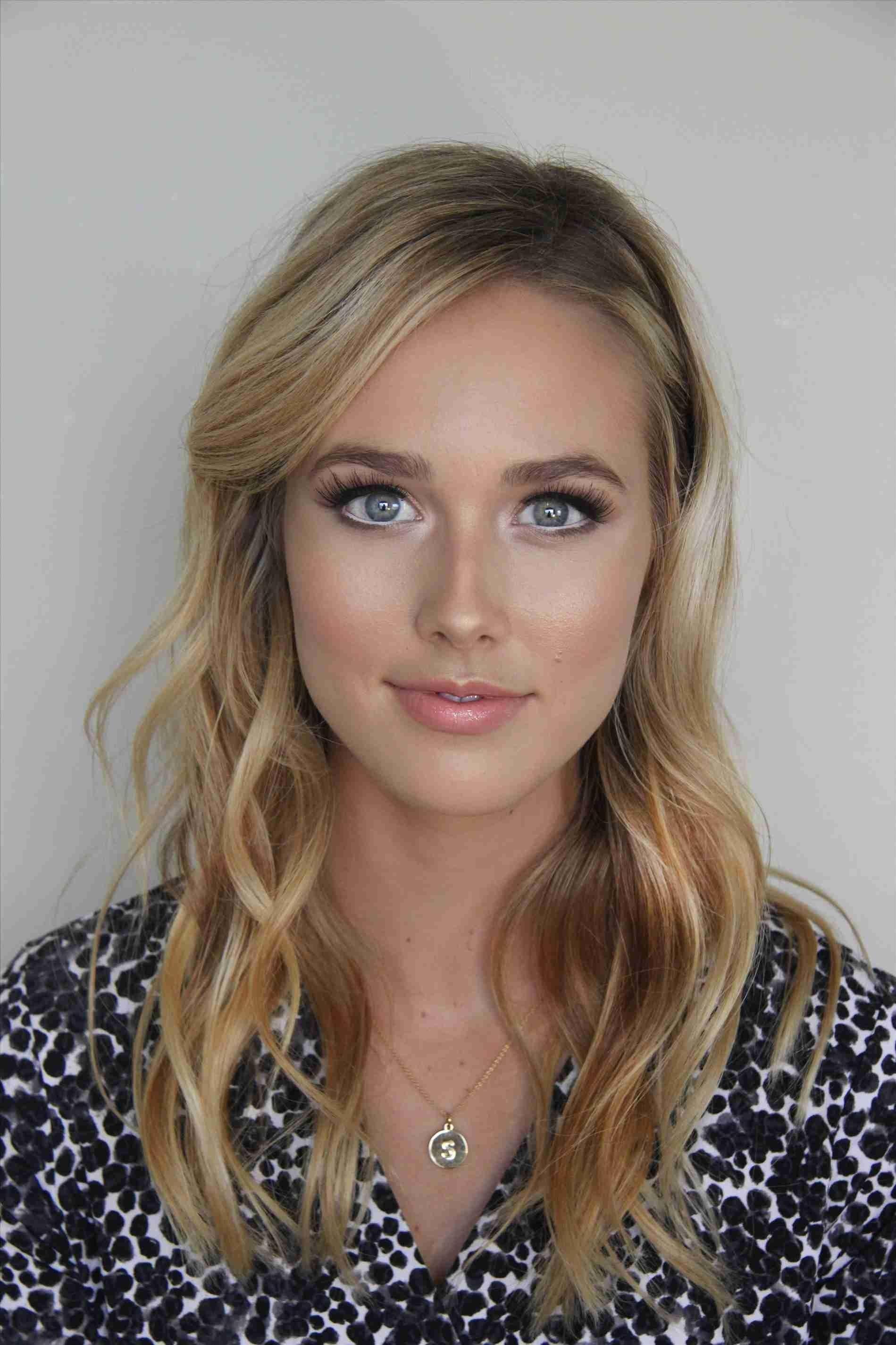 makeup for blonde hair hazel eyes fair skin - wavy haircut