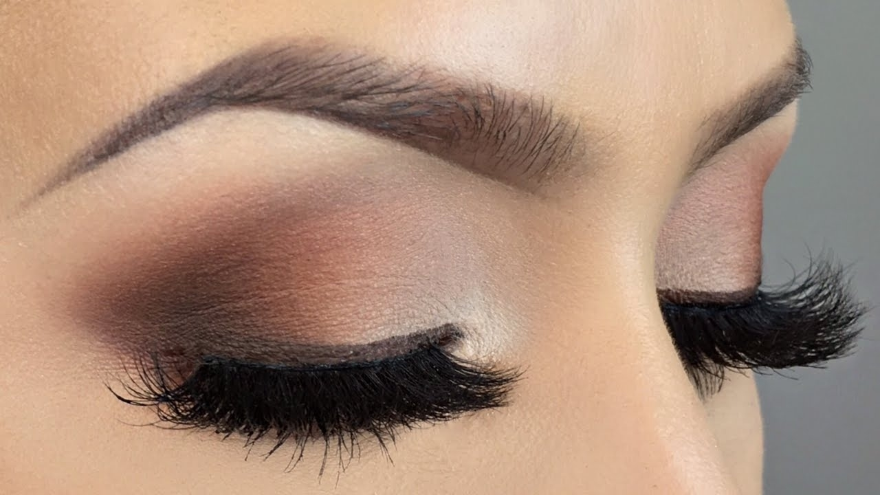 Brown Smokey Eye Makeup Tutorial - Youtube in Brown Smokey Eye Photo Tutorial