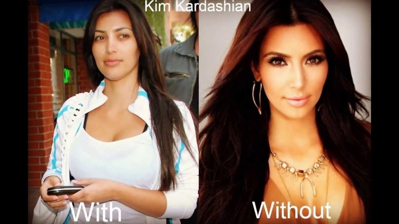 Celebrities Without Makeup (Beautiful With And Without) - Youtube for Celebrities Without Makeup Before And After Video