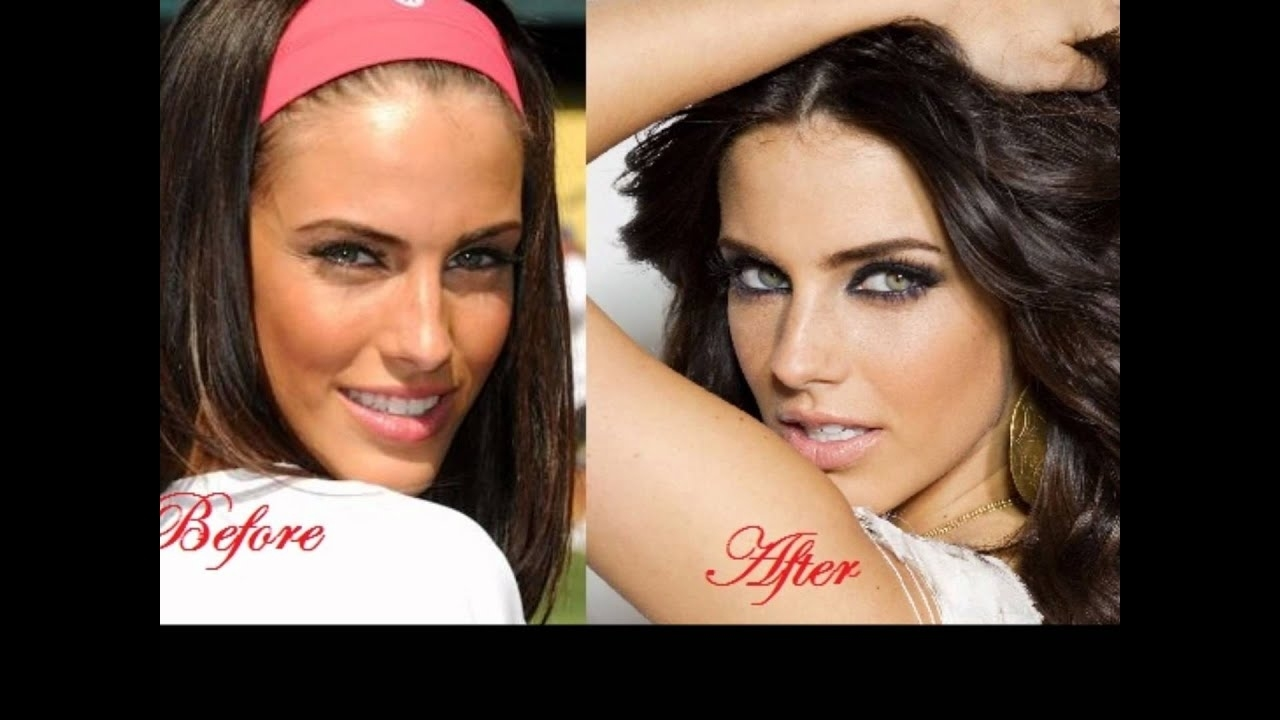Celebs Before And After Make Up - Youtube regarding Celebrities Without Makeup Before And After 2012