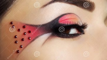 Creative Eye Make-Up Stock Photo. Image Of Eyebrow, Shadows - 27401470 in Download Eye Makeup Images