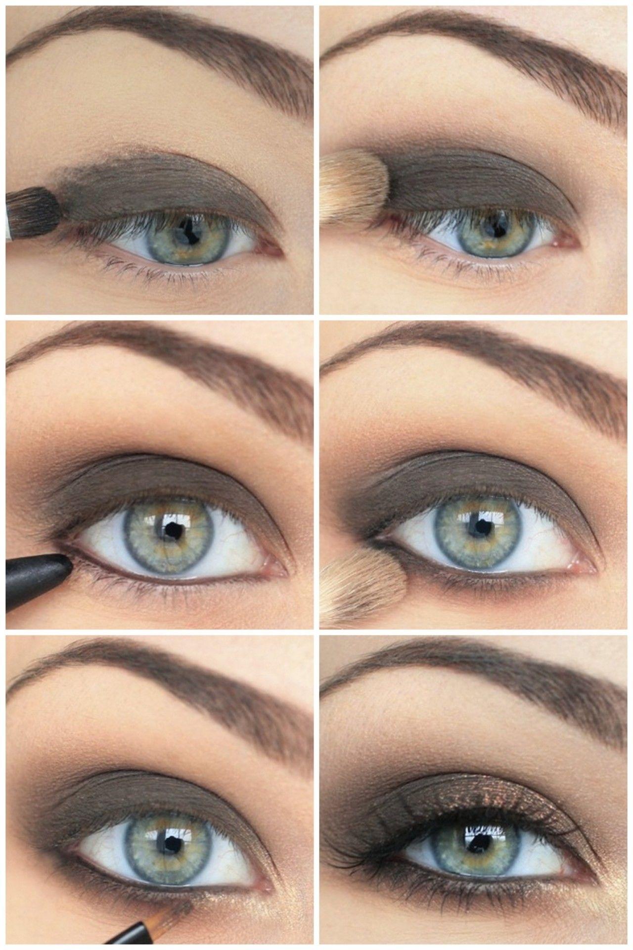 smokey eye makeup looks tumblr - wavy haircut