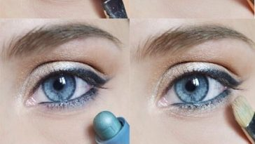 Natural Looking Makeup Tutorial For Blue Eyes