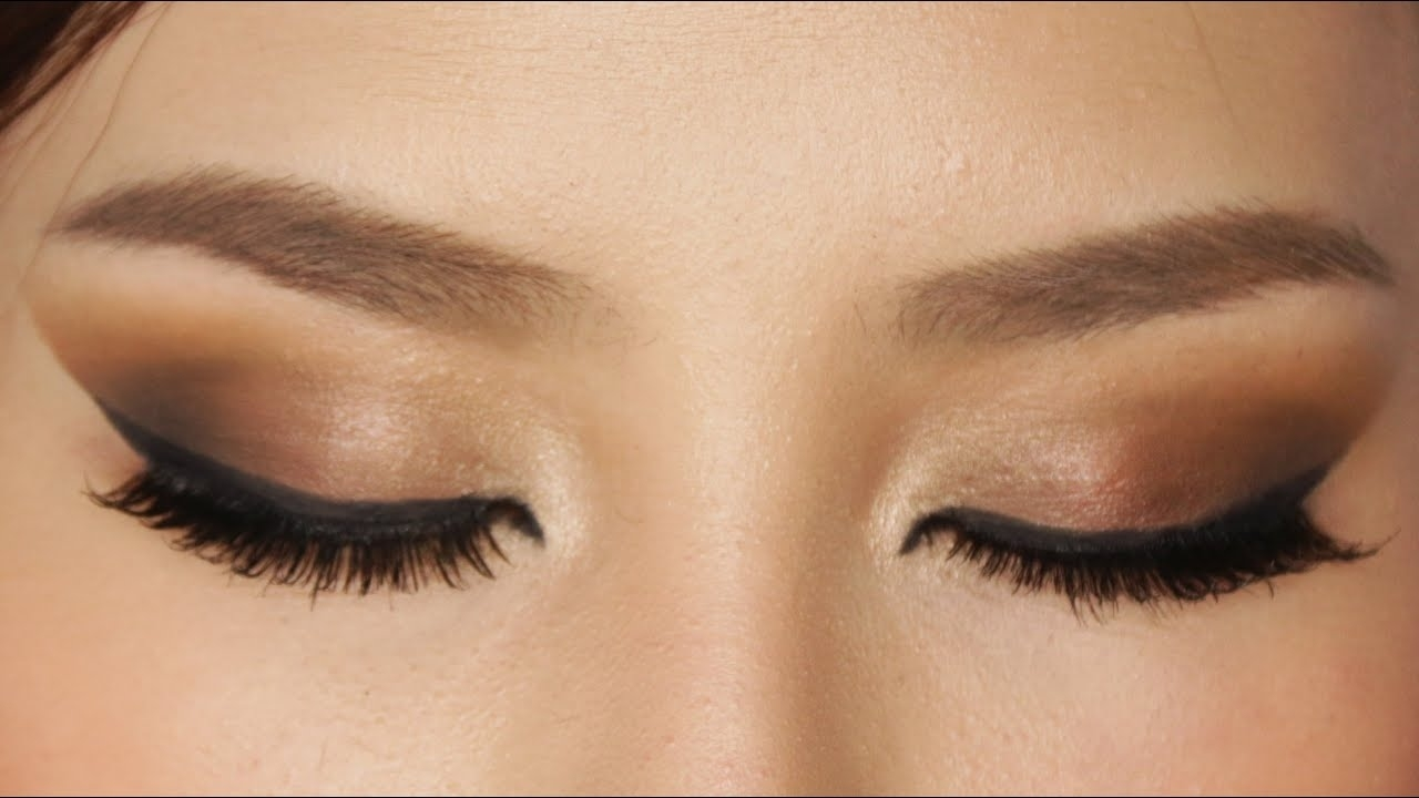Easy Brown Smokey Eye Makeup Tutorial - Youtube intended for Easy Smokey Eye Makeup