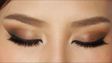 Easy Brown Smokey Eye Makeup Tutorial - Youtube regarding Basic Smokey Eye Makeup
