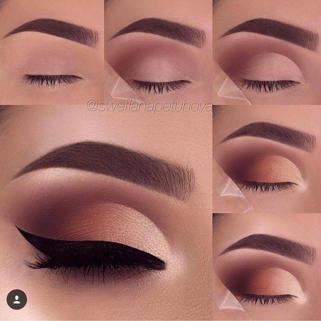 Eyemakeup | Beauty | Makeup, Eye Makeup, Makeup Tutorial For Beginners for Step By Step Eyeshadow Makeup