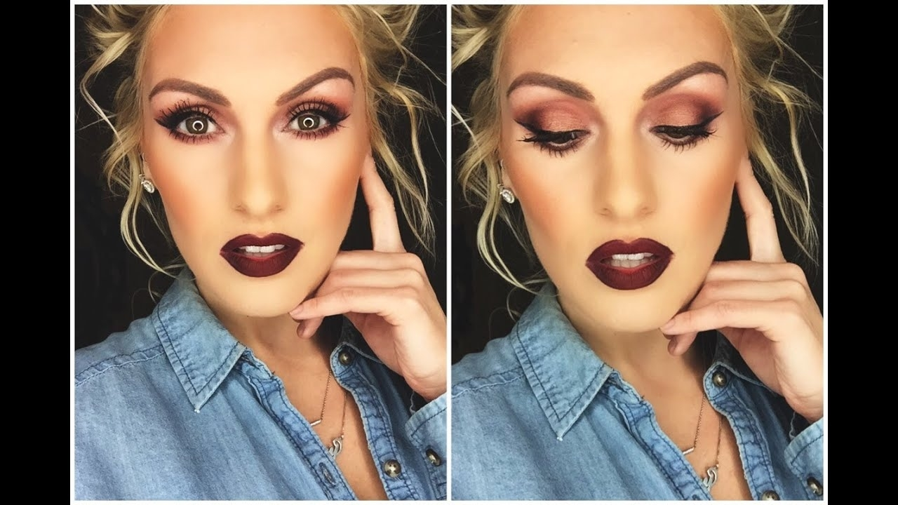 makeup tutorial for hazel green eyes – wavy haircut