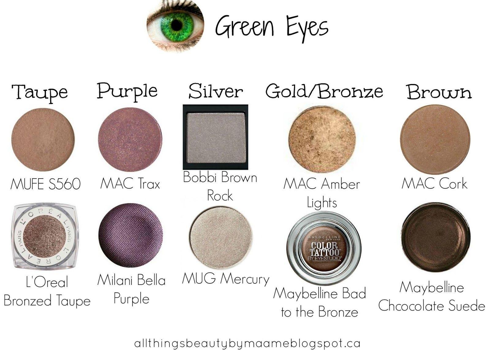 mac eyeshadow combinations for green eyes - wavy haircut