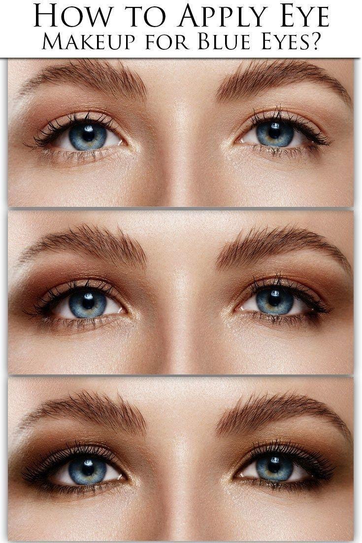 how to apply eye makeup for blue eyes over 50 | saubhaya makeup