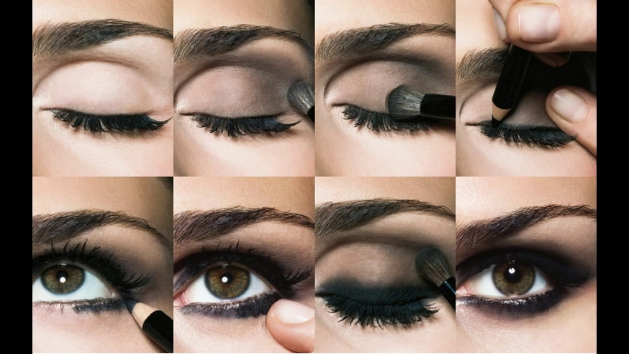 How To Apply Eyeshadow Step By Step - Youtube regarding Makeup – Applying Eyeshadow Step By Step