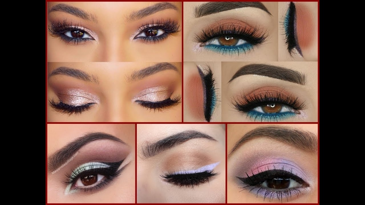 How To Make Brown Eyes - Best Makeup Ideas For Brown Eyes! - Youtube in Makeup Ideas For Brown Eyes