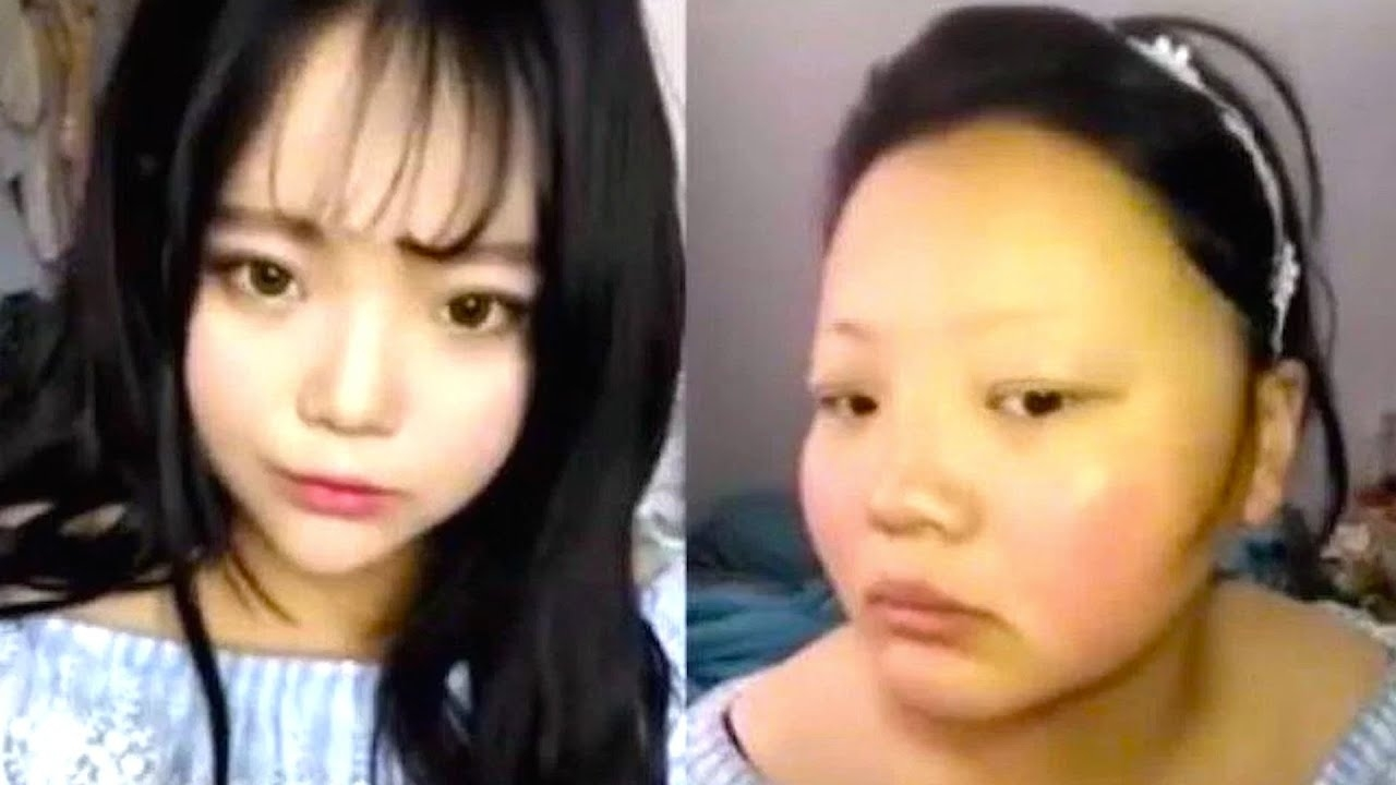 Incredible Korean Makeup Transformation - Youtube intended for Before After Make Up Korea