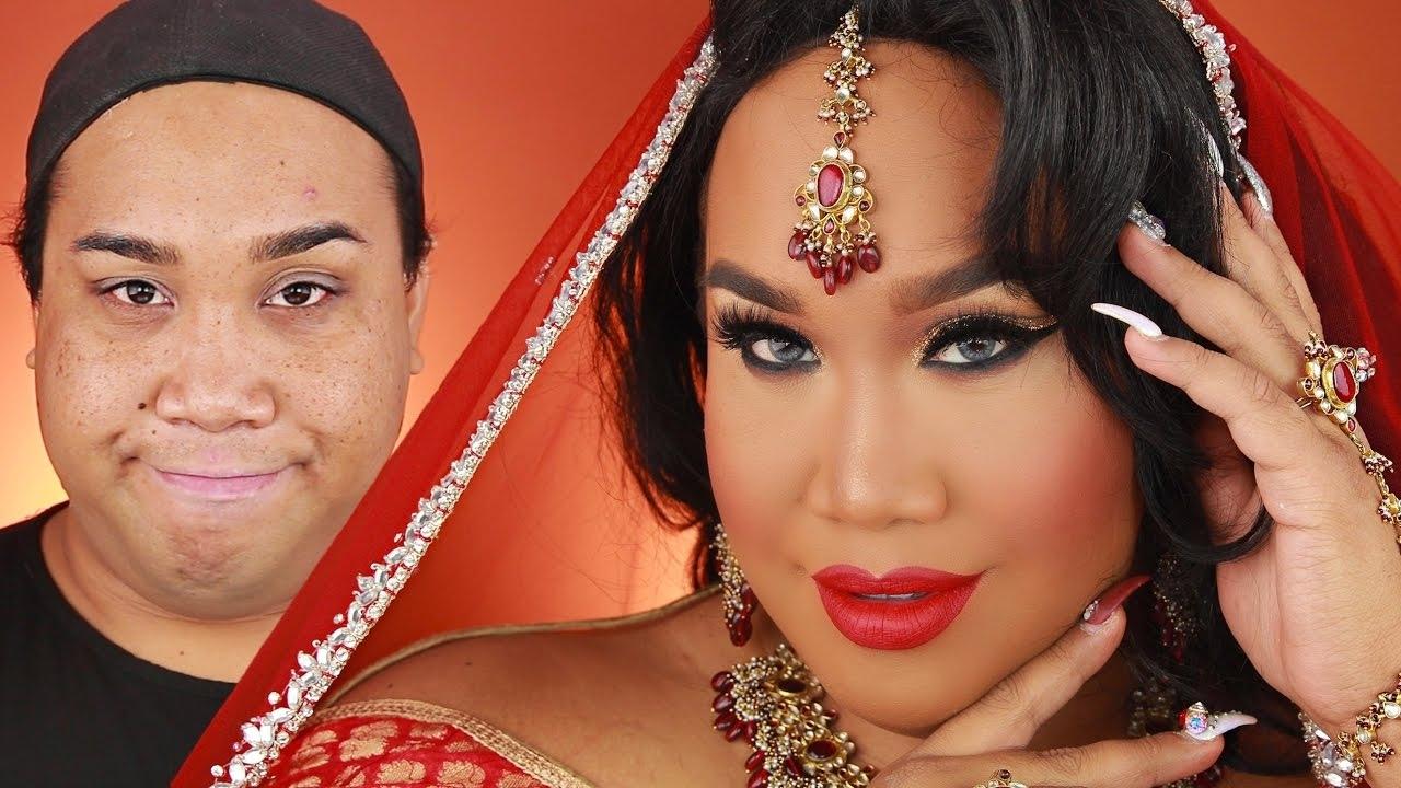 Indian Bridal Wedding Makeup Tutorial | Patrickstarrr - Youtube inside Indian Bridal Wedding Makeup Pictures