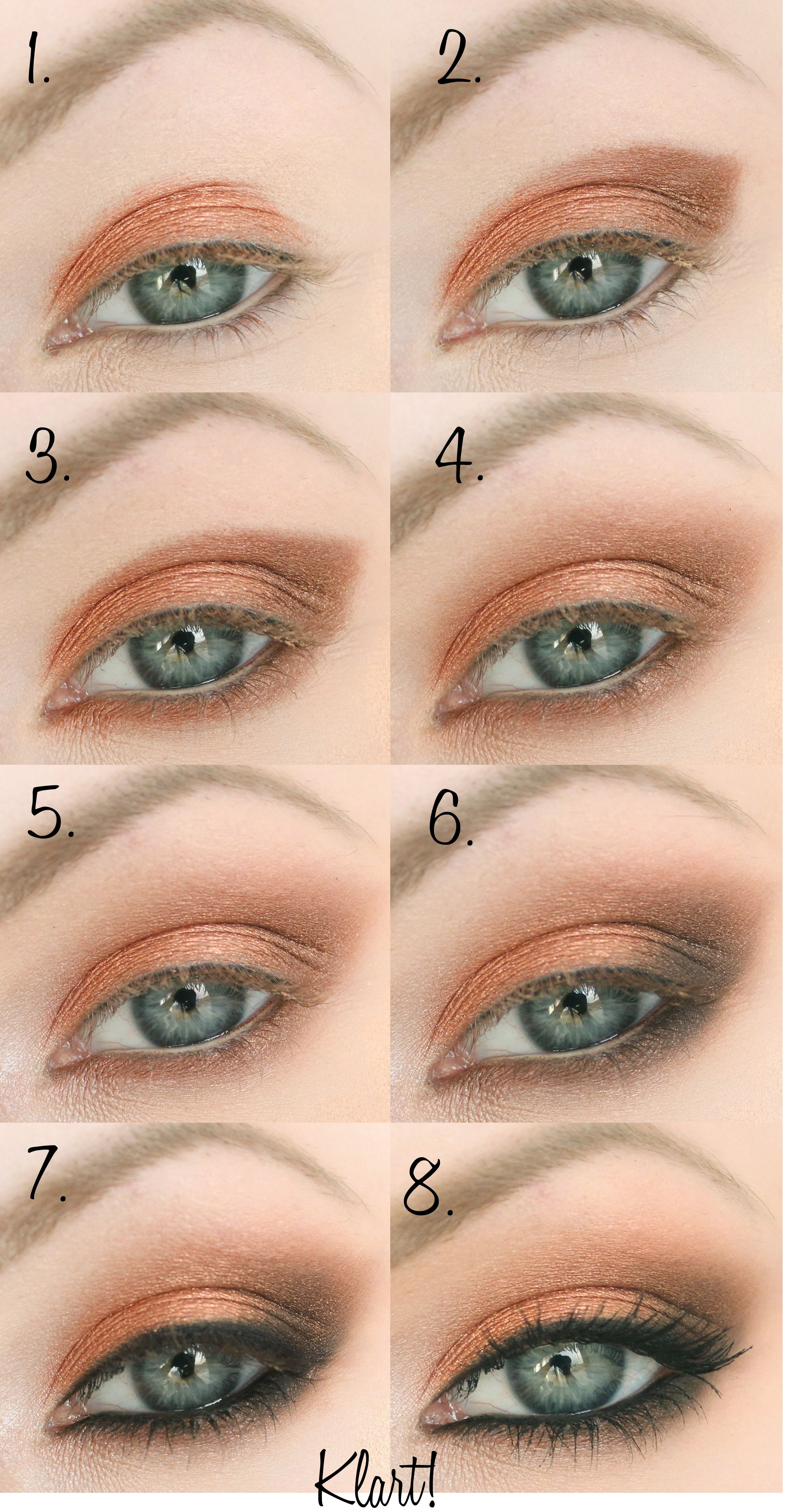 Jennifer Lawrence Makeup Tutorial   Haare&beauty   Pinterest within Makeup Tips For Gray-Green Eyes