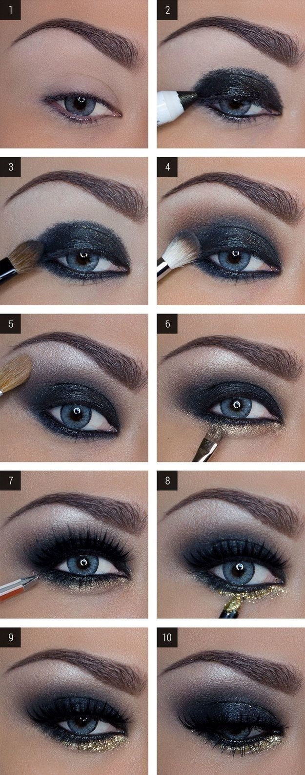 Lovely Makeup Tutorials For Blue Eyes   Make Up   Pinterest   Makeup inside How To Do Dramatic Eye Makeup For Blue Eyes