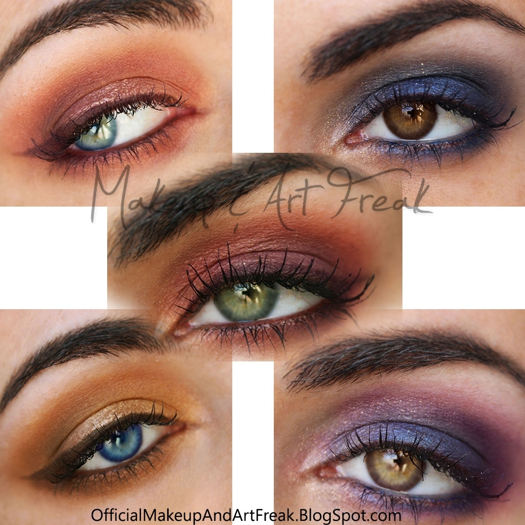 Makeup And Art Freak: How To: Make Your Eye Color Pop! with What Color Eye Makeup Makes Green Eyes Pop