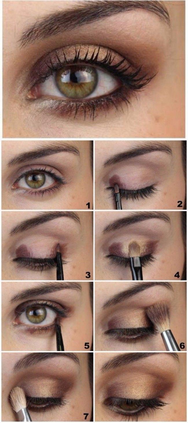 Makeup For Green Eyes | Makeup | Makeup, Eye Makeup, Hazel Eye Makeup pertaining to What Color Eyeshadow Looks Good With Hazel Green Eyes