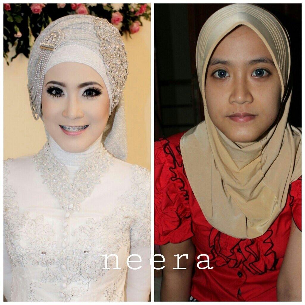 Makeup Portfolio By Neera Muslimah Make Up | Bridestory in Neera Muslimah Wedding Makeup & Gallery