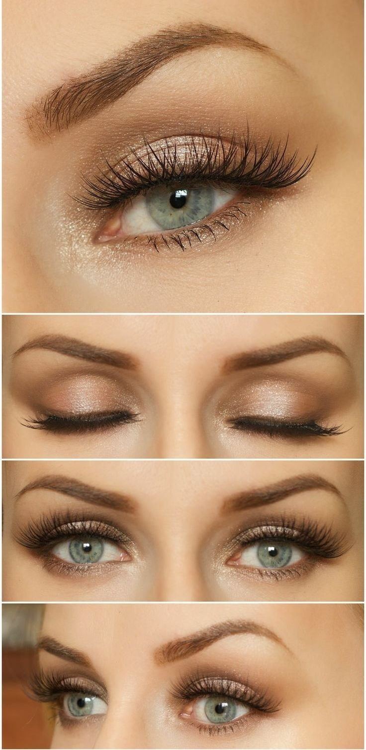 Makeup For Blue Green Eyes And Light Brown Hair Wavy Haircut