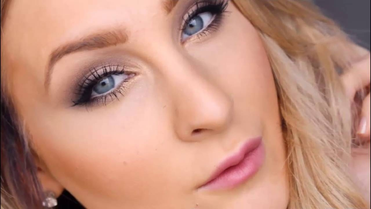 Makeup Tutorial For Blue Eyes And Fair Skin - Youtube for Makeup Blue Eyes Pale Skin