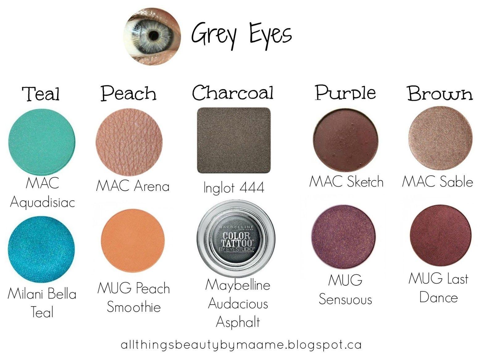 best mac eyeshadows for blue/grey eyes – wavy haircut