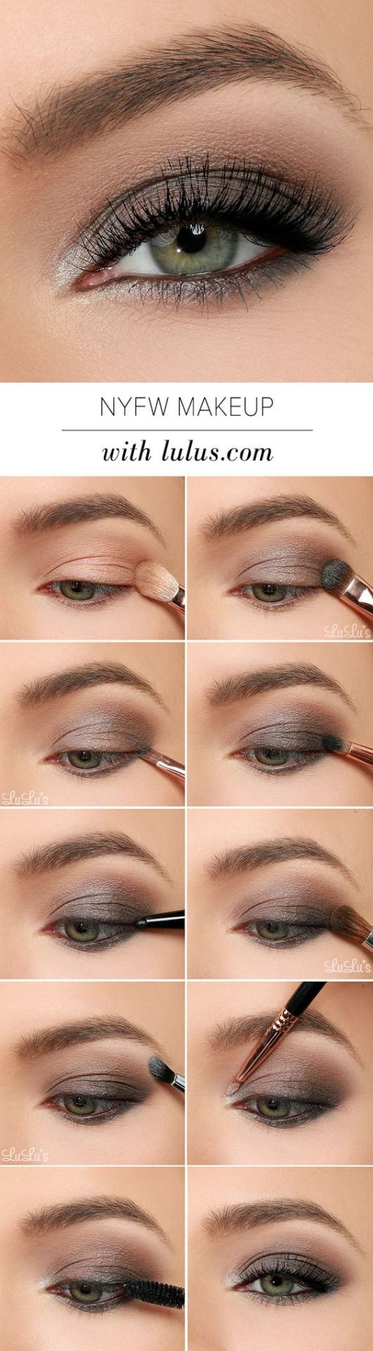 Pin By Juanes Moderate On Easy Make Up Tips | Pinterest | Makeup pertaining to Makeup Tips For Gray-Green Eyes
