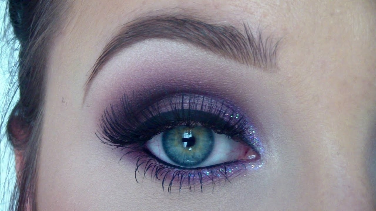 Purple Eyeshadow Makeup Tutorial - From Day To Night | Jaclyn Hill in How To Apply Purple Eyeshadow For Blue Eyes