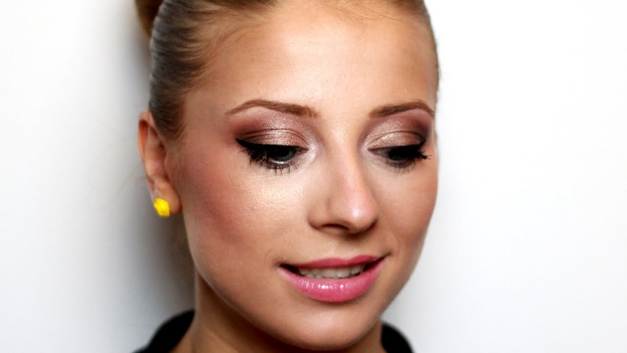 Romantic Makeup For Blue Eyes And Blonde Hair - Youtube regarding Best Makeup For Blue Green Eyes And Blonde Hair
