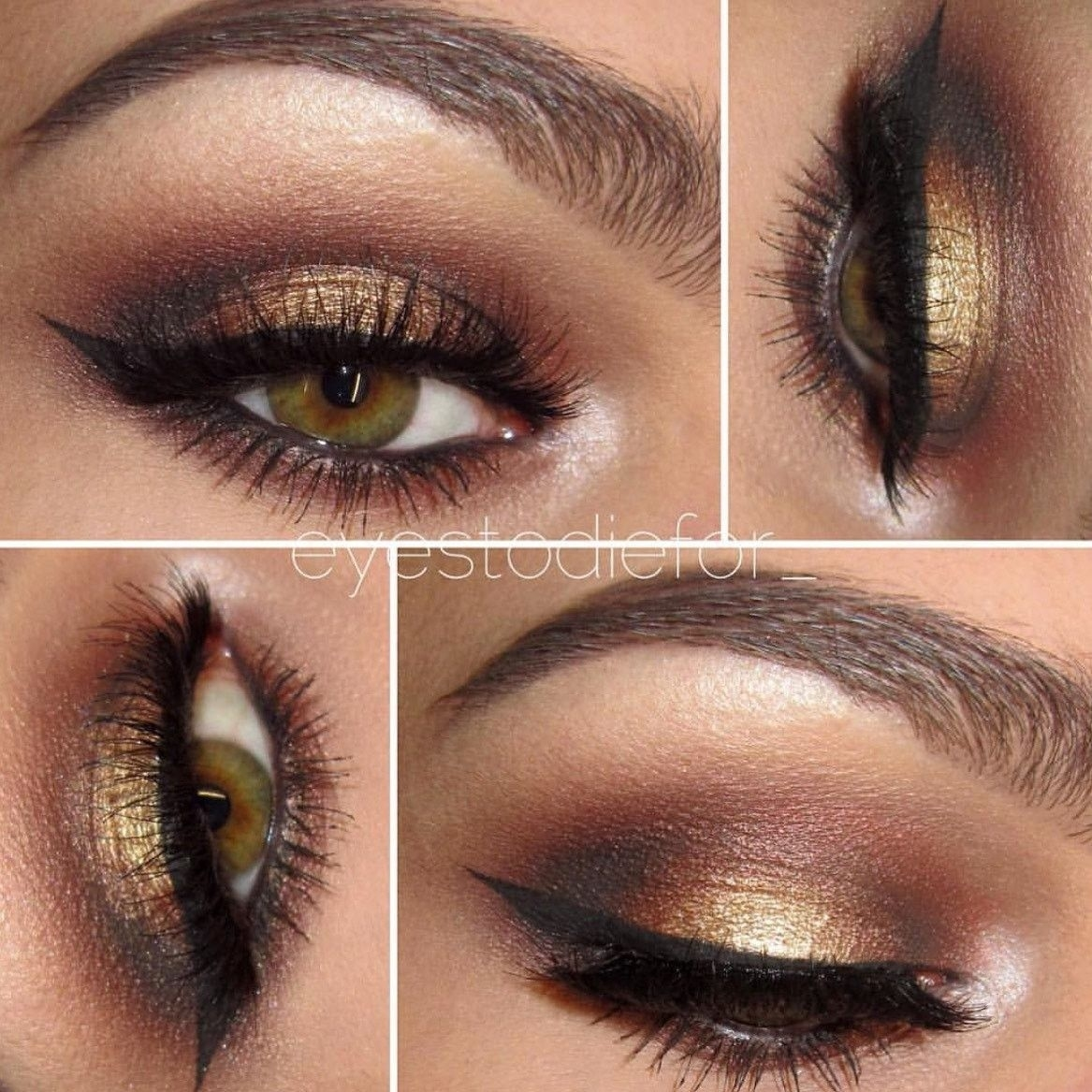 Seduction- Get This Look! All Natural, Vegan Eyeshadow And Eyeliner pertaining to Good Makeup Looks For Hazel Eyes