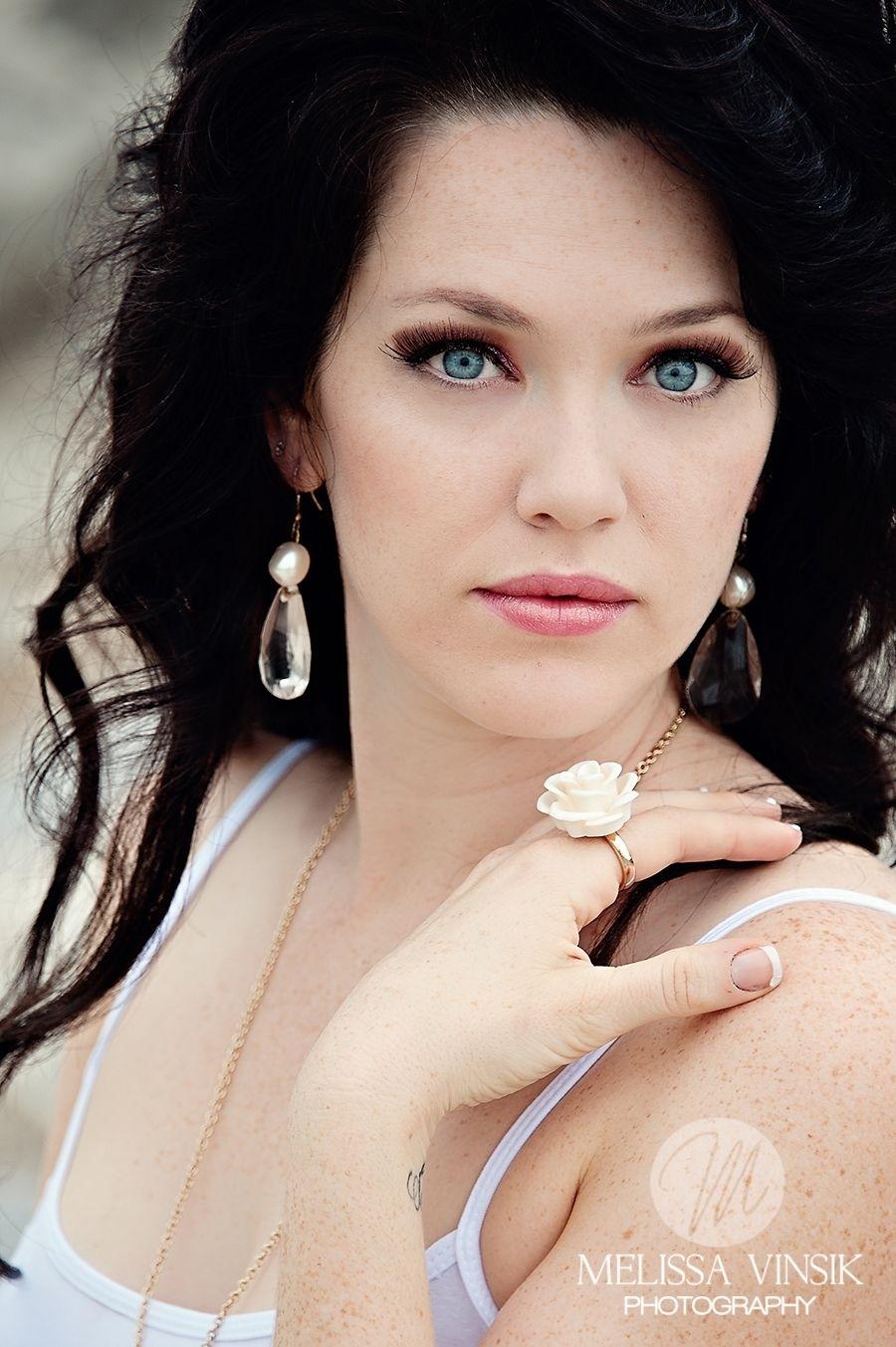 She Is Stunning. My Favourite Look, Fair Skin Dark Hair Blue Eyes for Makeup For Blue Eyes Pale Skin Dark Hair