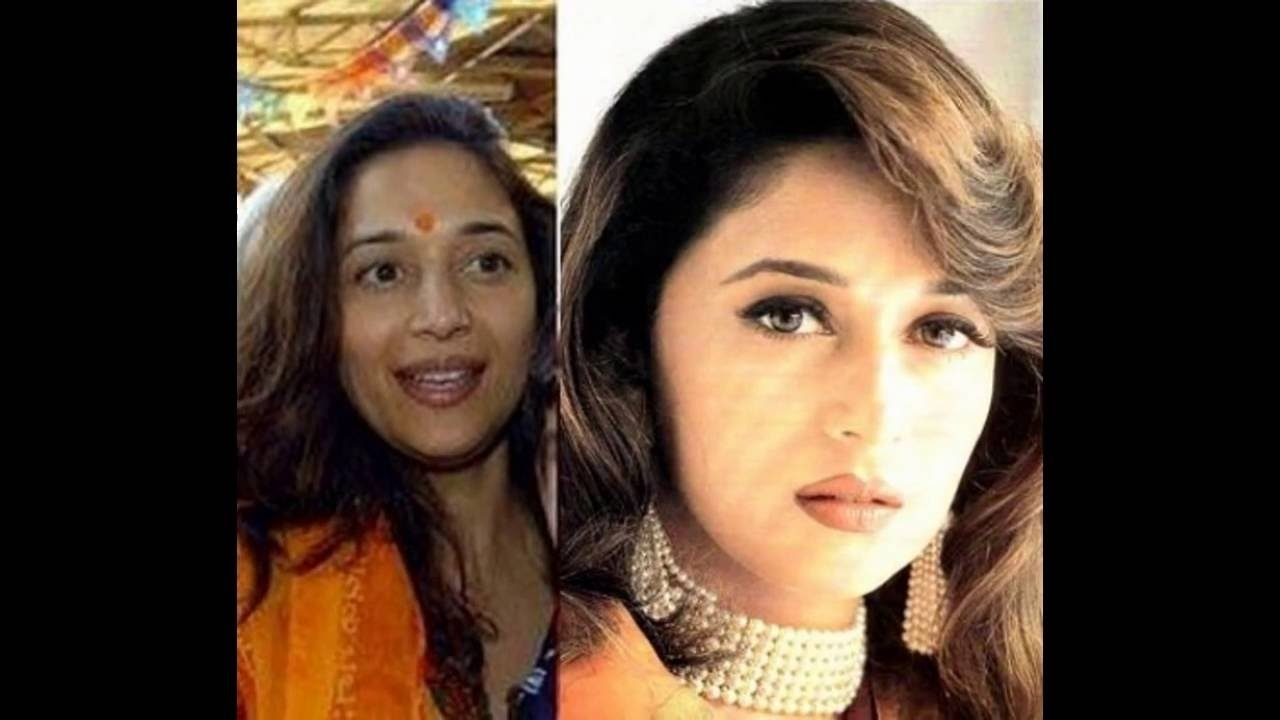 bollywood actors without makeup before and after - wavy haircut