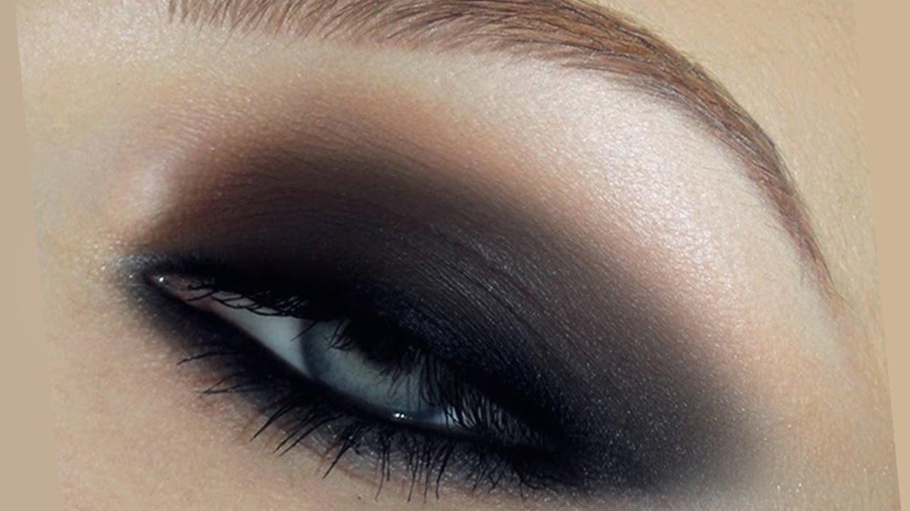 Simple Fast Smokey Eyes Makeup Tutorial - Youtube for Basic Smokey Eye Makeup