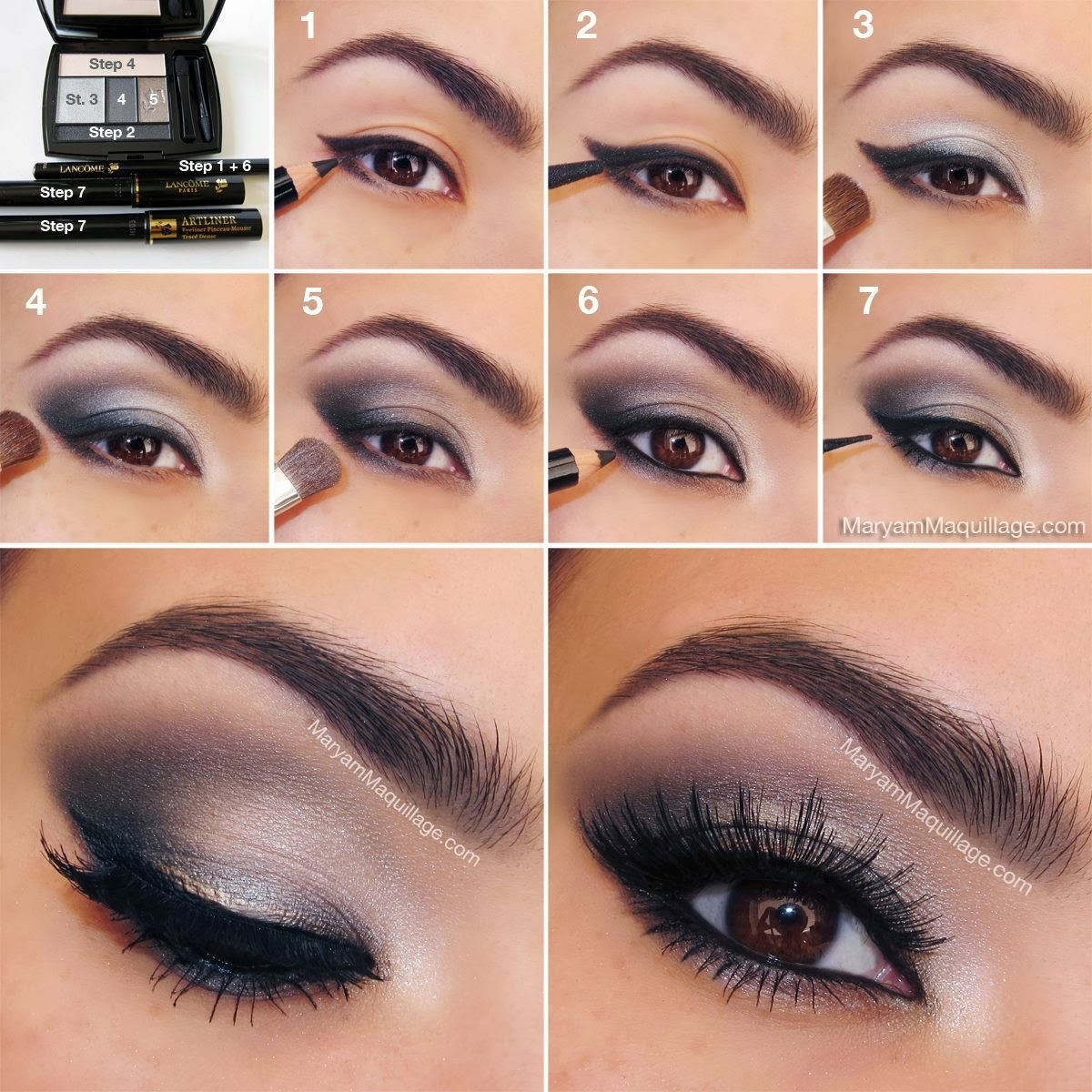 Smokey Eye Makeup Tutorial Step By Step - Style Arena intended for Smoky Eye Makeup Easy Steps