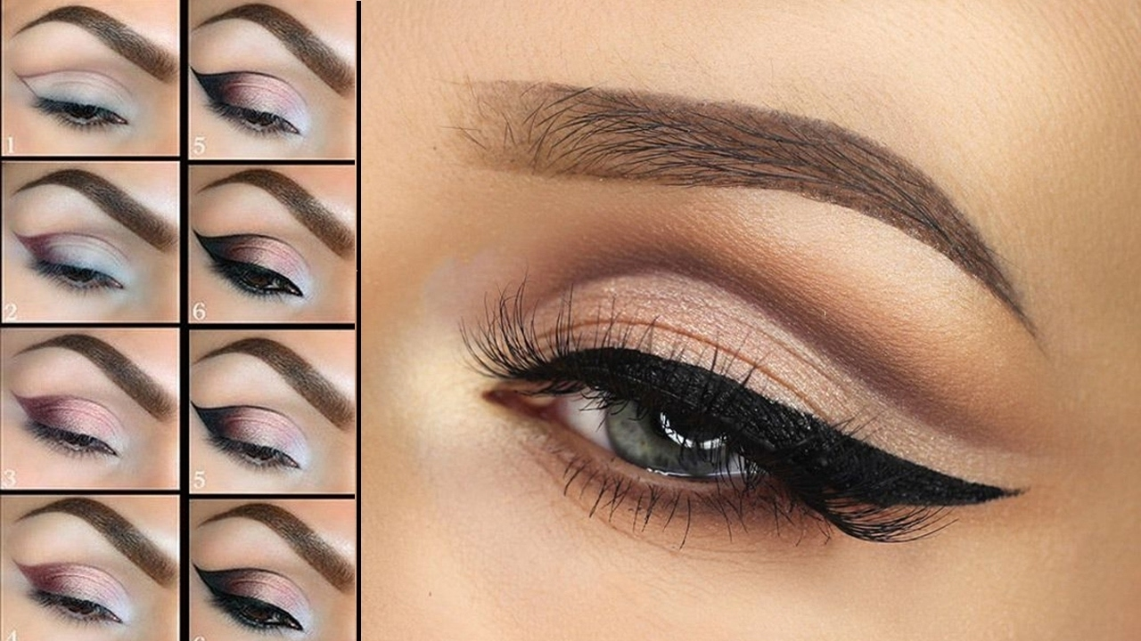 Smokey Eye Party Makeup Tutorial Step By Step  Learn How To Apply in Applying Eye Makeup Step By Step Pictures