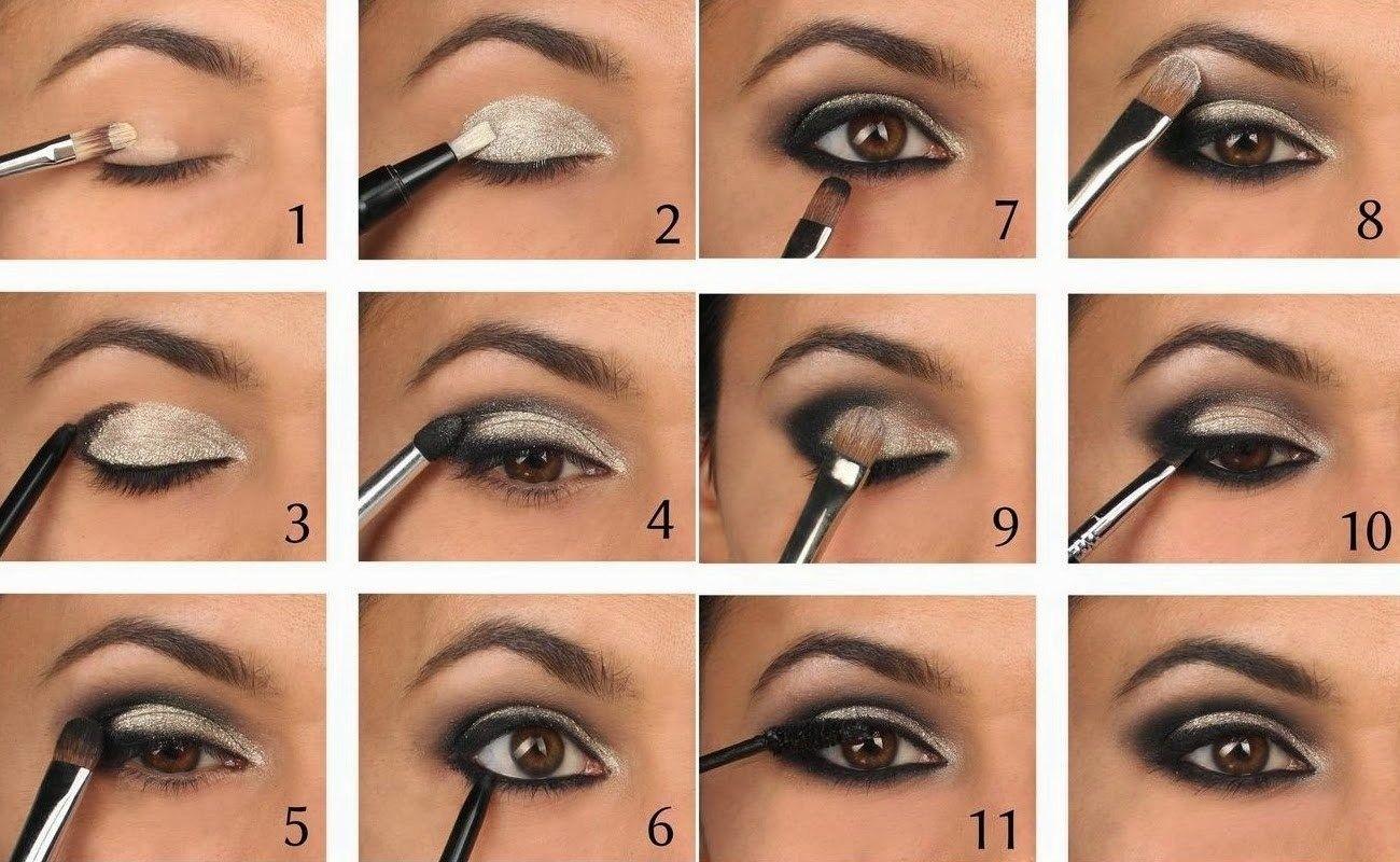Smoky-Eye-Guide; Makeup-Tutorial-For-Smoky-Eye | Make Up | Pinterest within Smokey Eye Makeup Tutorial Steps